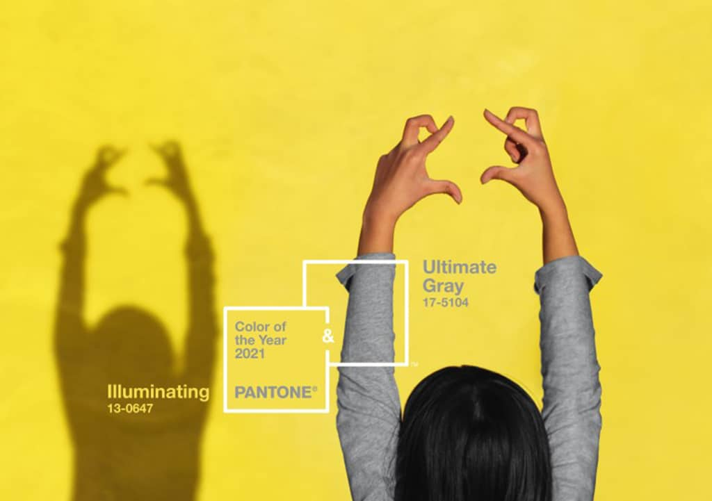 Read more about the article The Pantone Colors of the Year for 2021 are Ultimate Gray and Illuminating